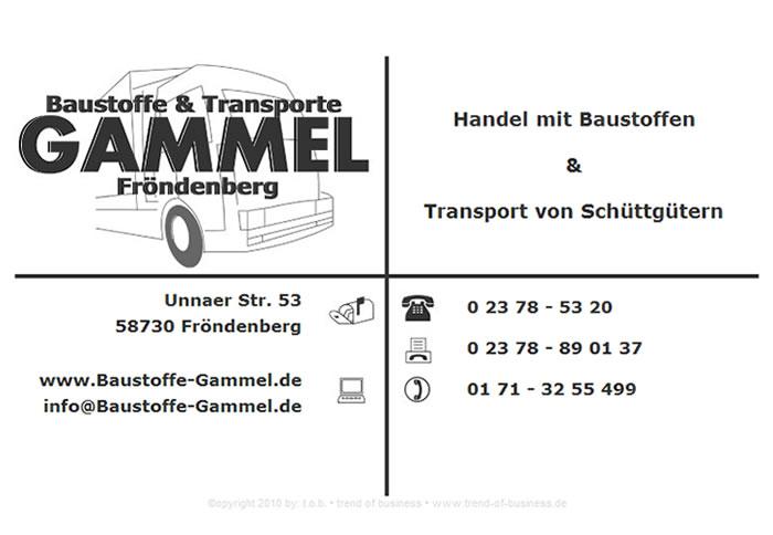 Baustoffe & Transporte Gammel Fröndenberg
