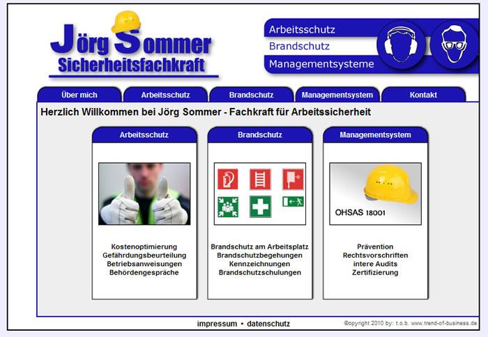 Sicherheitsfachkraft J. Sommer